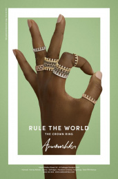 Annoushka: Rule the World, 3 Print Ad by Mr. President London
