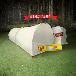 Glad: The Glad Tent, 1 Outdoor Advert by Alma Miami