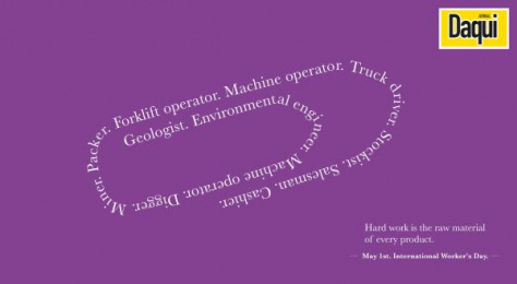 Daqui: Clip Print Ad by Inquieta