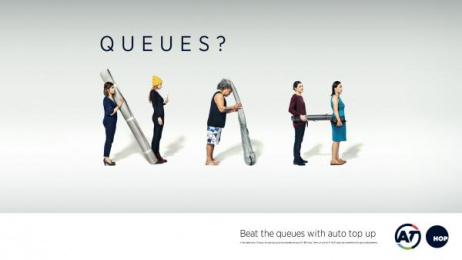 Auckland Transport: Auckland Transport Print Ad by Federation