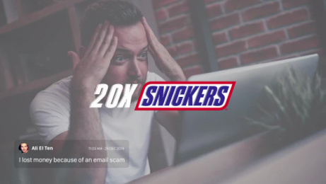 Snickers: Hunger Insurance [case study] Film by Impact BBDO Dubai