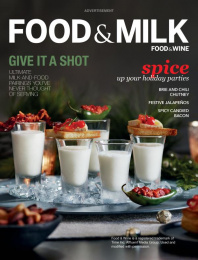 Got Milk?: Food & Milk, 2 Print Ad by Goodby Silverstein & Partners San Francisco