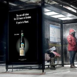 Fernet: Life is bitter, 1 Outdoor Advert by Ogilvy Copenhagen