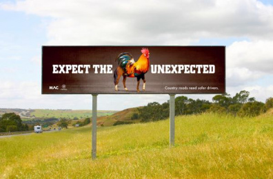 Motor Accident Commission (MAC): Horooster Outdoor Advert by kwp! Adelaide
