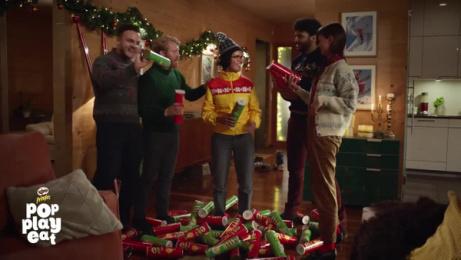 Pringles: Let's Celebrate: Winter Jacket Film by Grey London, HunkyDory