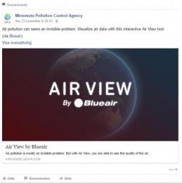 Blue air: Air View [image] 3 Digital Advert by Burson-Marsteller