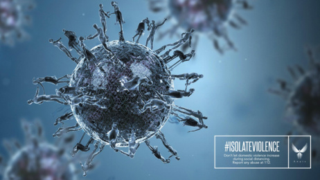 Anais Association: #isolateviolence, 2 Print Ad by Cheil Romania
