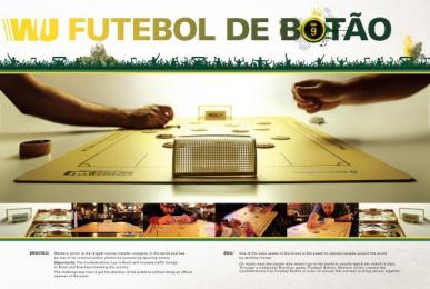 Western Union: Futebol de Botão Ambient Advert by GNOVA