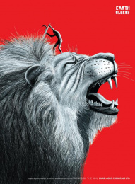 Zuari Industries: Lion Outdoor Advert by R K Swamy BBDO Mumbai