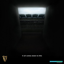 Guinness: Croke Park Tunnel Digital Advert by AMV BBDO London