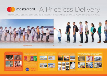 Mastercard: A Priceless Delivery [image] 2 Case study by Fortune Promoseven Dubai