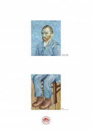 Kiwi: Van Gogh Print Ad by Ogilvy & Mather Chicago