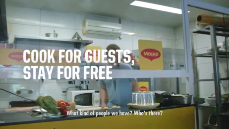 Maggi: Cook your stay Ambient Advert by Publicis Sao Paulo