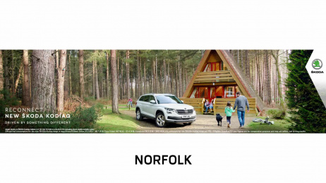 Skoda: Kodiaq Outdoor Advert by Fallon London, Grand Visual
