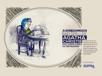 Supra Pens: Agatha Christie Print Ad by Monkey Wrench