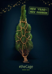 The Cage Bar: Tree Print Ad by Provid