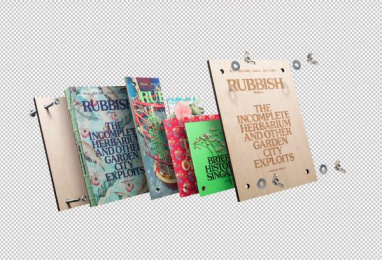 Holycrap.sg: Rubbish Famzine- The Incomplete Herbarium and other Garden City Exploits, 1 Design & Branding by Kinetic Singapore