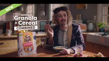 Kellogg's:  Just Right Fusion Film by Wunderman Thompson, Sydney, Australia