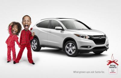 Honda: Santa Print Ad by Wax