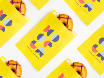 Hoopla Donuts: Hoopla Brand ID, 7 Print Ad by Daughter Creative