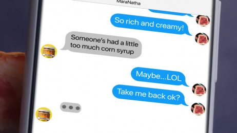 MaraNatha: Late Night Texts Film by Hornet Inc., The Terri & Sandy Solution
