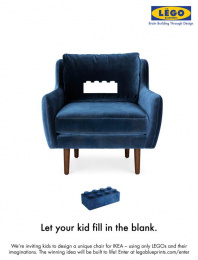 IKEA: Let Your Kid Fill In The Blank Print Ad by Miami Ad School San Francisco