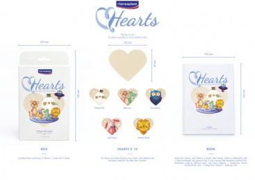 Hansaplast: Hearts [image] Direct marketing by Happiness Brussels