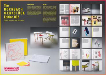 Hornbach: WERKSTÜCK Edition 002, 2 Print Ad by Heimat Berlin