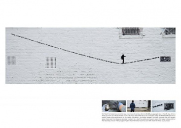 End Youth Homelessness: Balancing Outdoor Advert by Leo Burnett London