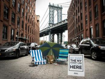 New York Sea: Dumbo Ambient Advert by Miami Ad School Miami