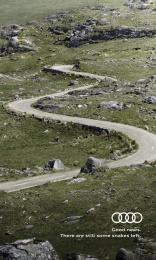 Audi: Saint Patrick's Day Snakes Print Ad by Chemistry Dublin