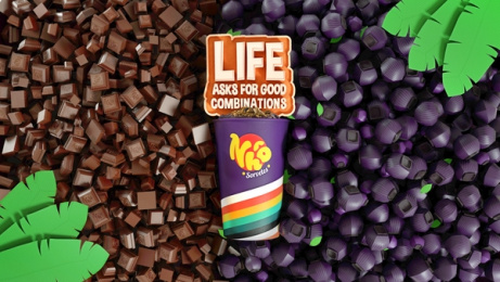 Nhô Sorvetes: Life Asks for Good Combinations - Chocolate and Açaí Print Ad by Maya Brazil