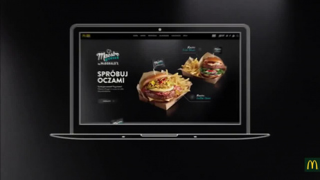 McDonald's: Feast for the Eyes Digital Advert by Isobar Warsaw