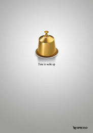 Nespresso: Time to wake up Print Ad by Acc Granot Israel