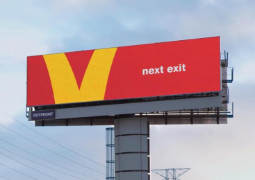McDonald's: Follow The Arches: Next exit, 2 Outdoor Advert by Cossette Toronto