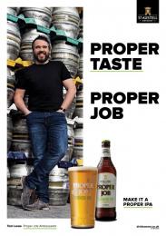 Proper Job: Proper Job Print Ad by TMW