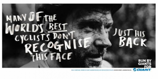 Giant Bicycles: Run By Giants For Giant, 4 Print Ad by Rees Bradley Hepburn (RBH)