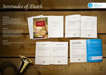 Deutscher Tierschutzbund: Serenades of Death Direct marketing by Wunderman Frankfurt