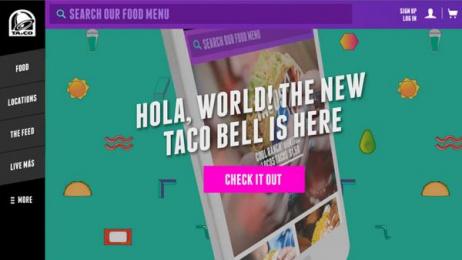 Taco Bell: Ta.co, 1 Digital Advert by Deutsch Los Angeles, MullenLowe Los Angeles