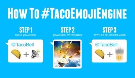 Taco Bell: Taco Emoji Engine, 3 Digital Advert by Deutsch Los Angeles, MullenLowe Los Angeles