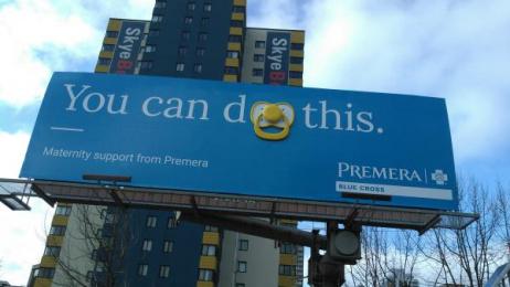 Premera Blue Cross: You Can Do This Outdoor Advert by Copacino+Fujikado