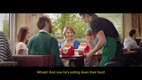 McDonald's: Table Service Film by Insurrection, TBWA Paris