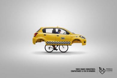 Fundacion Monica Licona: Bike, 2 Print Ad by Cerebro Y&R Panama