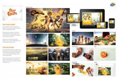 Fanta: PLAY FANTA GRAPHIC NOVEL [english] Digital Advert by Ogilvy & Mather New York