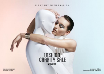 Aides: Fashion Charity Sale, 1 Print Ad by BETC