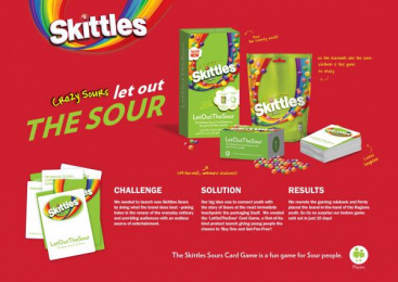 Sour Skittles Candy: LetOutTheSour [image] Film by Mediacom Mena Dubai, SWEETWATER COMMUNICATION Dubai