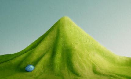 Viagra: Mountain, 1 Print Ad by DDB Cairo