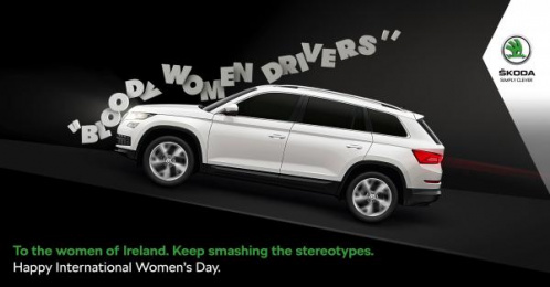 Skoda: Smashing Stereotypes Print Ad by Boys and Girls Dublin