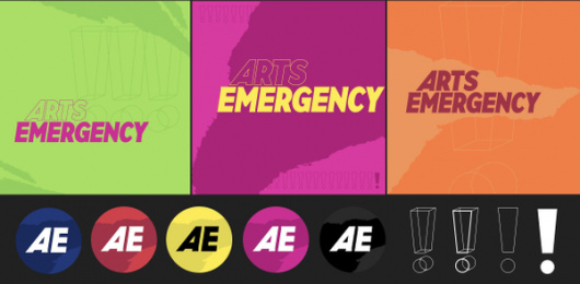 Arts Emergency: Rebrand, 5 Design & Branding by FCB Inferno London
