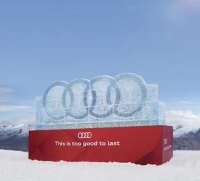 Audi: Audi Melting Offer Outdoor Advert by JOLT